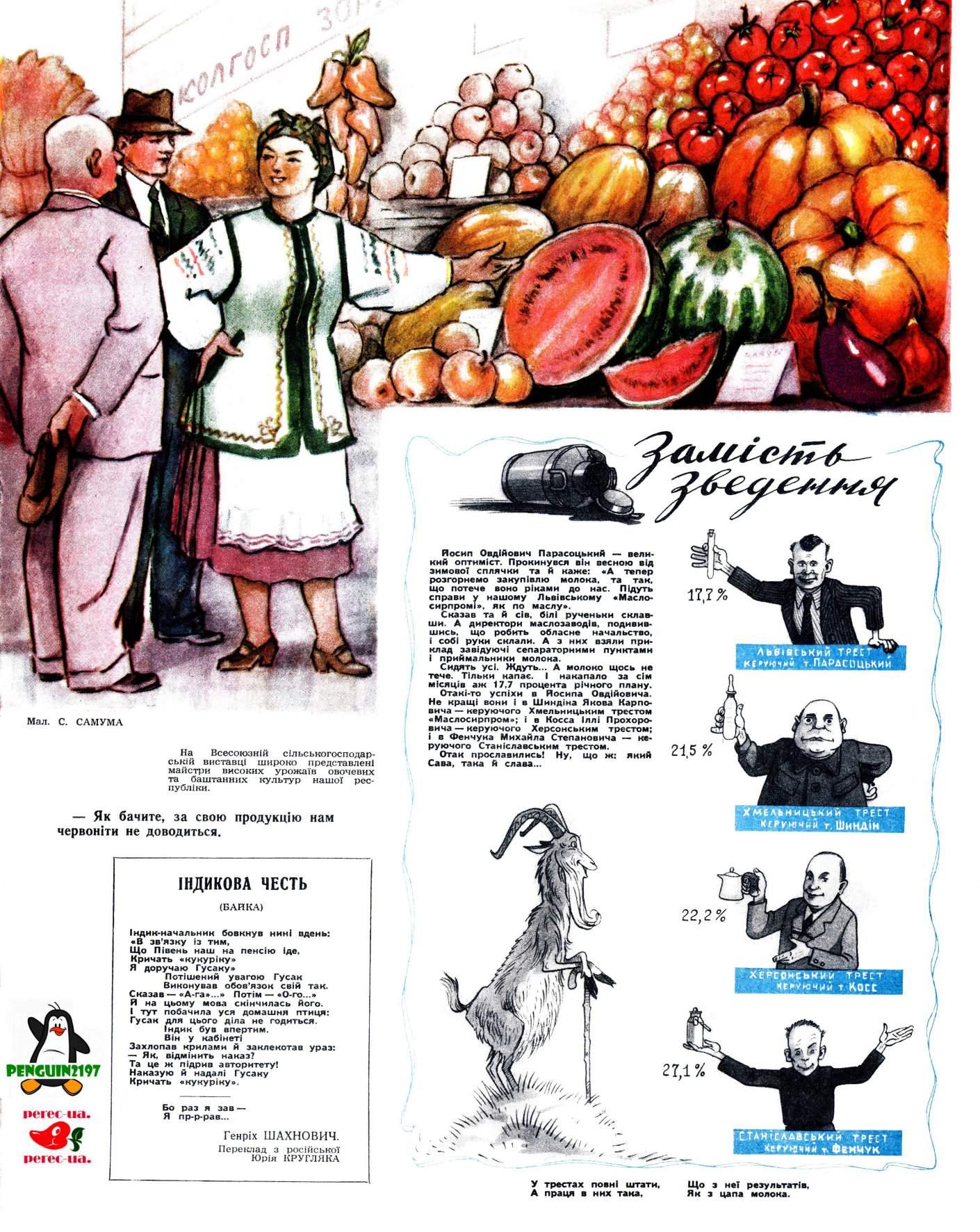 Журнал перець 1954 №16