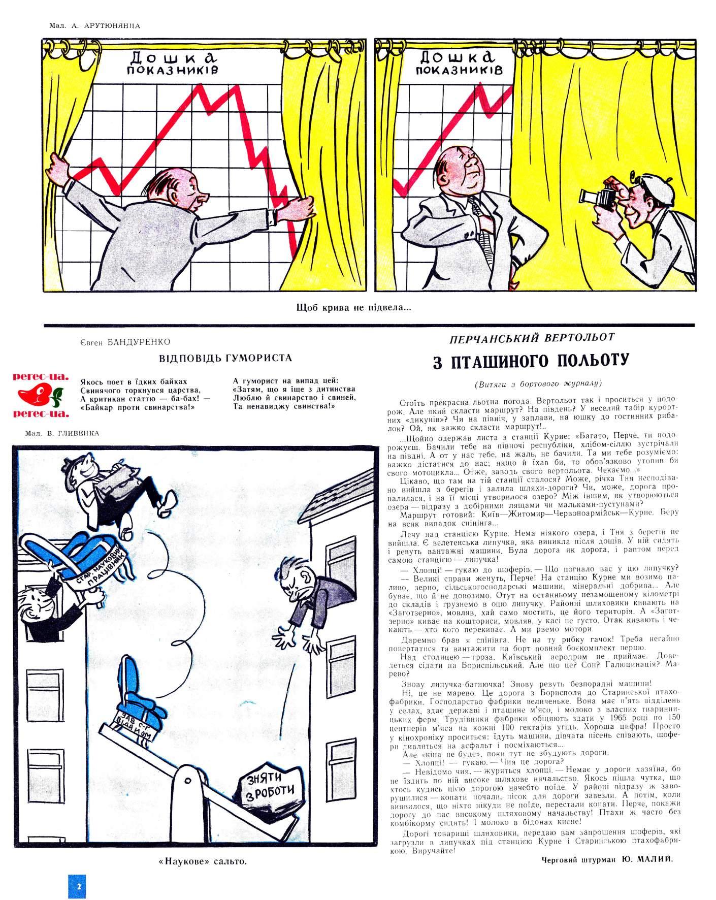 Журнал перець 1962 №10