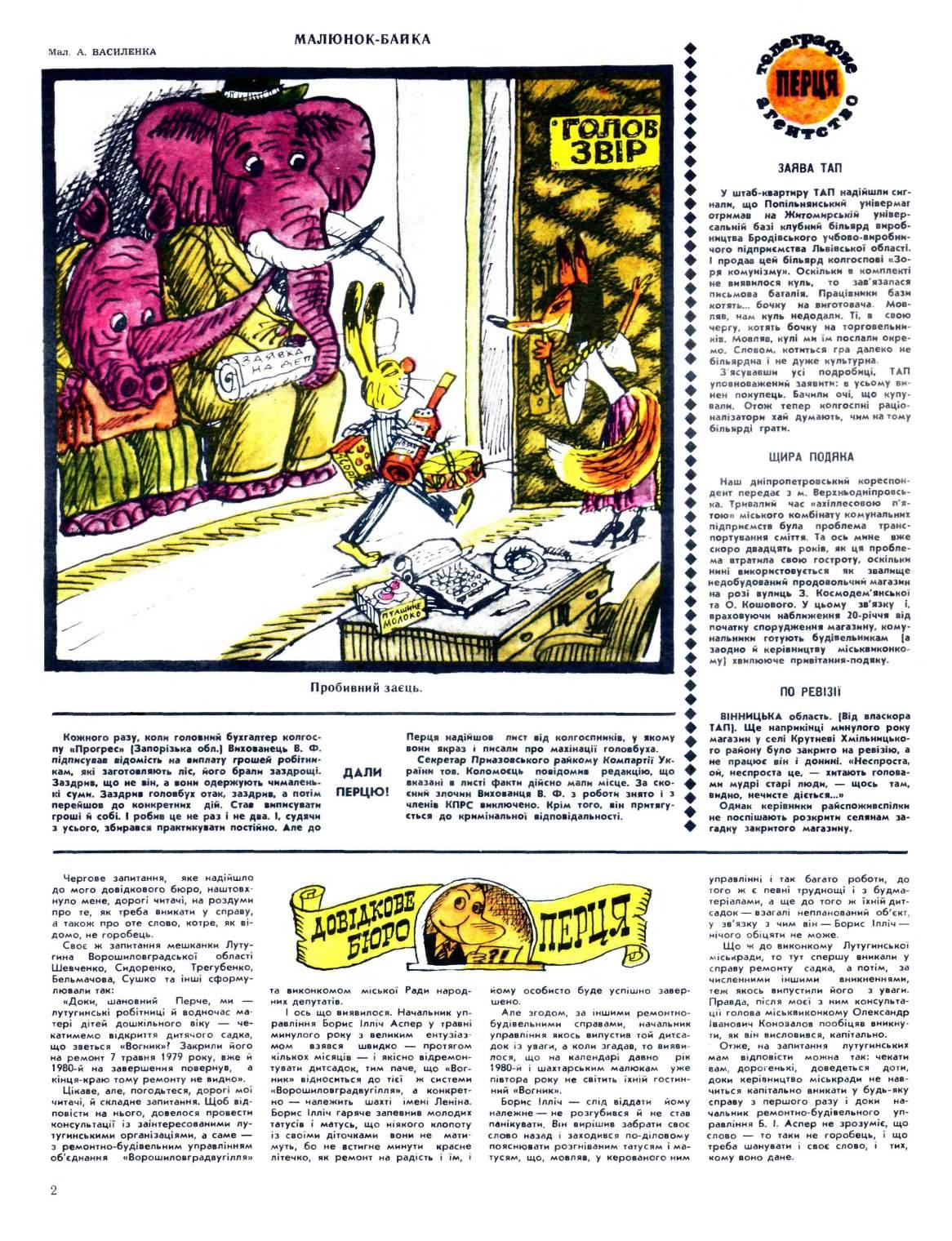 Журнал перець 1980 №19