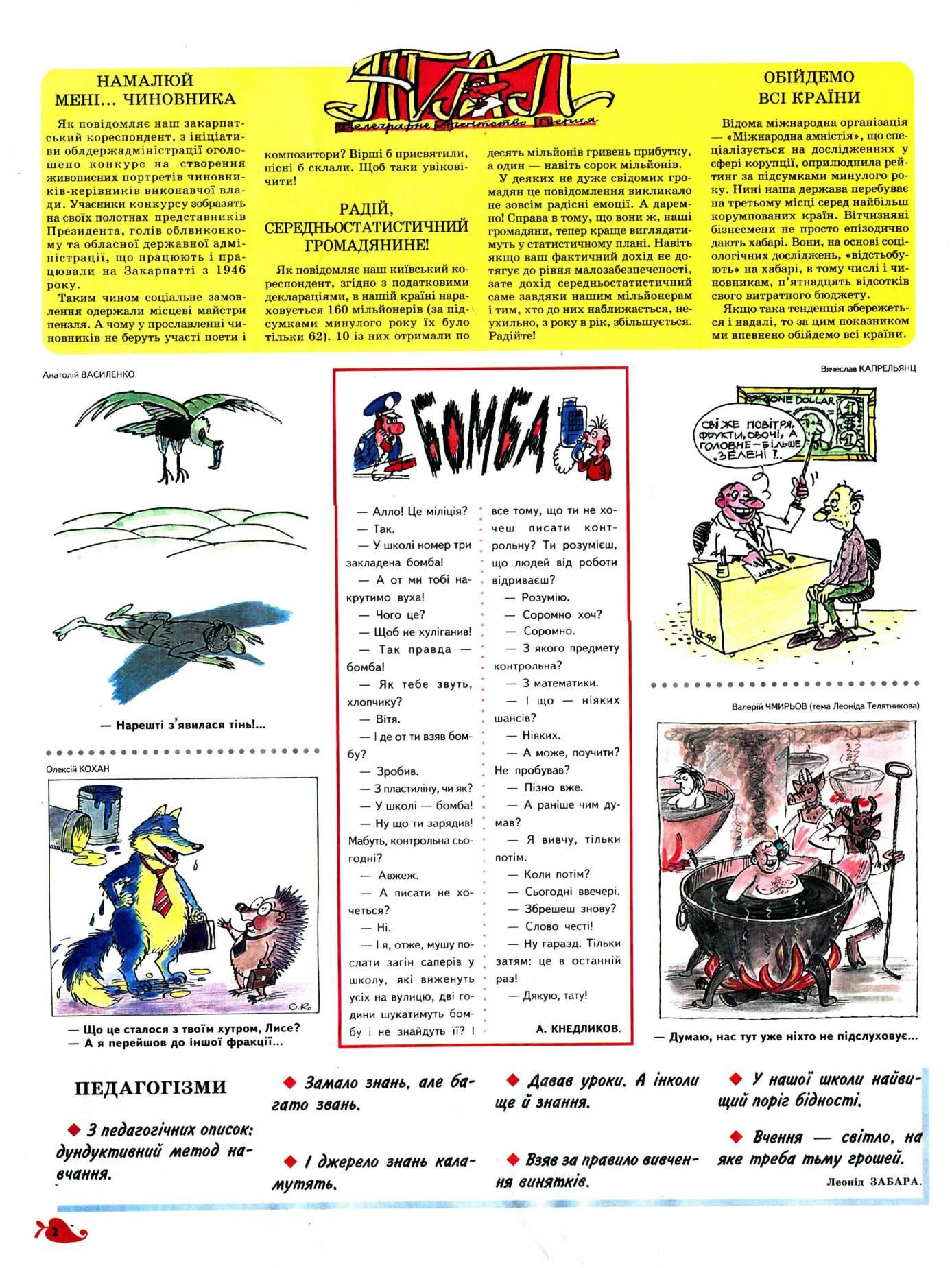 Журнал перець 2002 №09