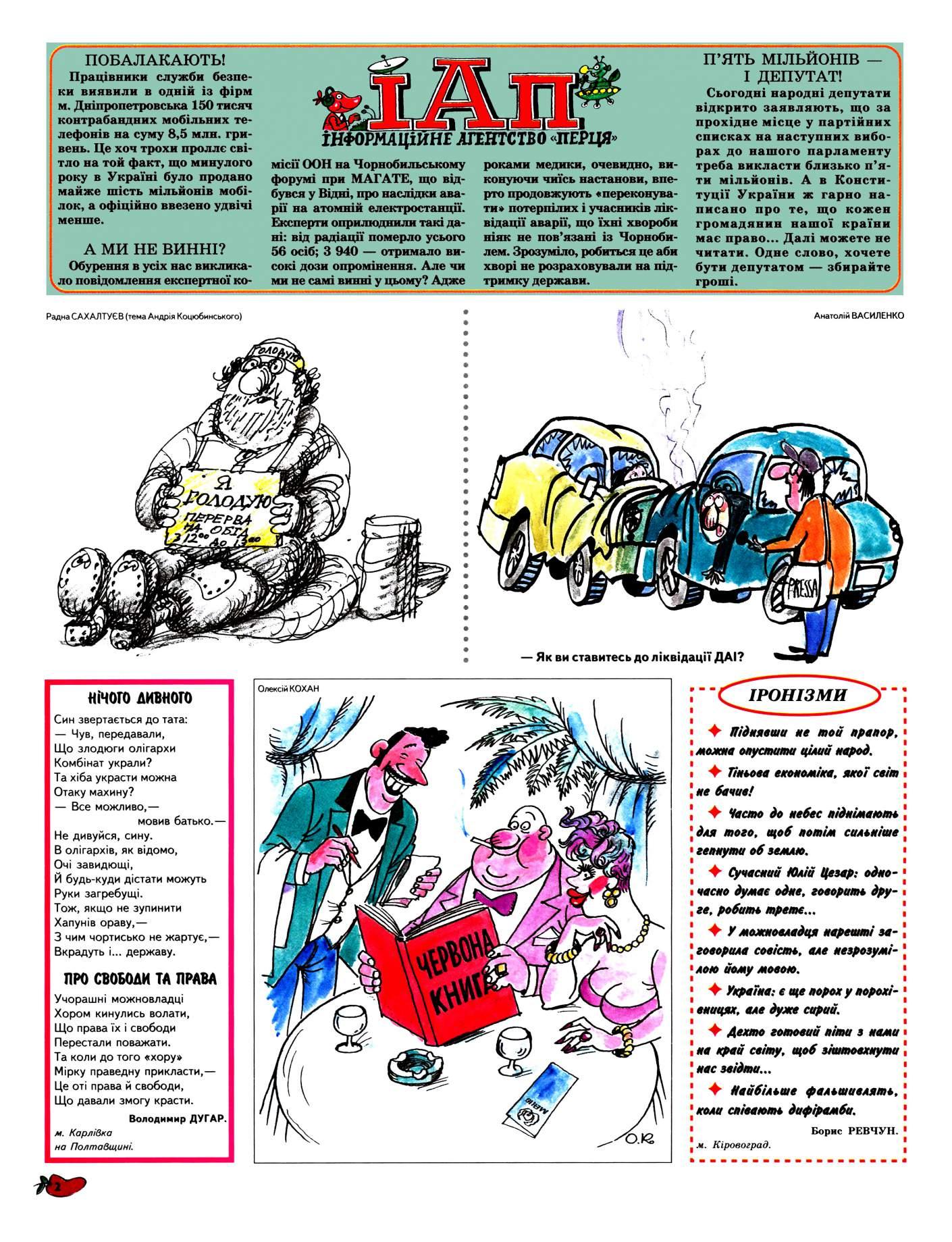 Журнал перець 2005 №08